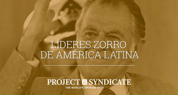 Líderes zorro de América Latina